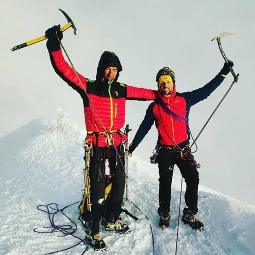 """Quando chi va con lo """"zoppo"""" impara a scalare, Coda e Lanfri non hanno intenzione di fermarsi al Monte Bianco"""