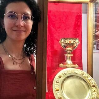 """Il """"Calice della Sardegna"""" custodito al Museo di Pettinengo"""