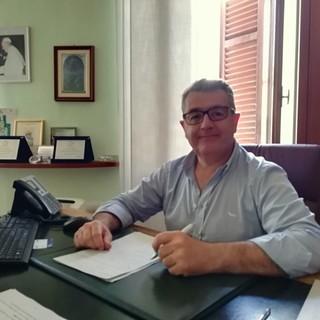Il sindaco di Cossato Enrico Moggio