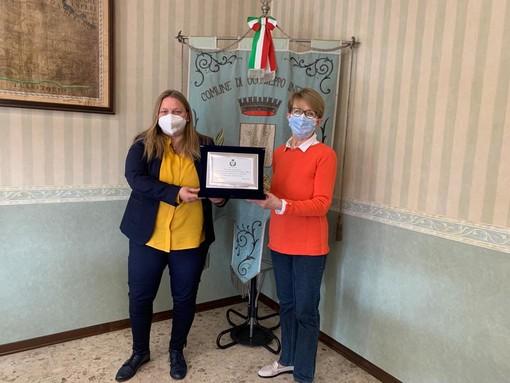 Occhieppo Inferiore, Mariagrazia Miglietti in pensione dopo 39 anni all'ufficio anagrafe