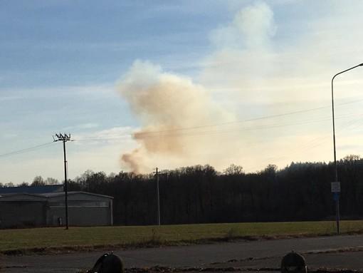 Ancora un incendio a San Silvestro di Mottalciata