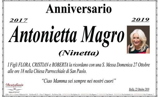 Anniversario - Antonietta Magro (Ninetta)