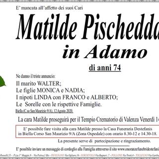 Matilde Pischedda in Adamo