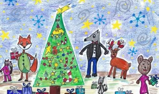 Natale, la fiaba di Antonella Scalcon vive nei disegni dei bimbi delle scuole di Portula VIDEO