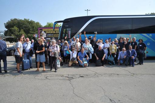 Volontari, ammalati e pellegrini da Biella in viaggio verso Lourdes