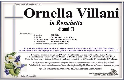 Ornella Villani in Rocchetta
