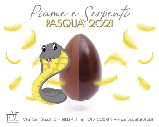 Uova di cioccolato, praline e dolciumi: La Pasqua 2021 di Taf a casa tua con lo shop online o il take away