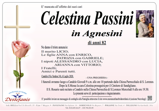 Celestina Passini in Agnesini