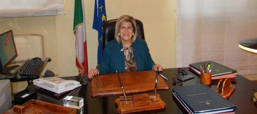 Il Prefetto Annunziata Gallo il giorno dell'insediamento a Biella