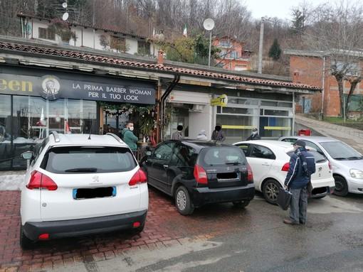L'ufficio postale di Pettinengo a dicembre