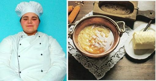 Valentina Bosonin e la polenta concia