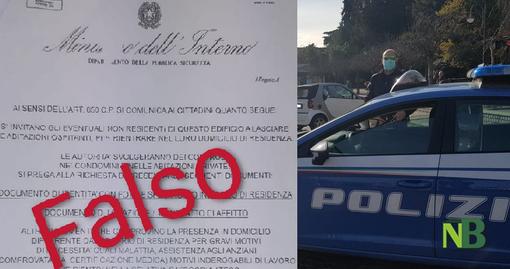 polizia fake news