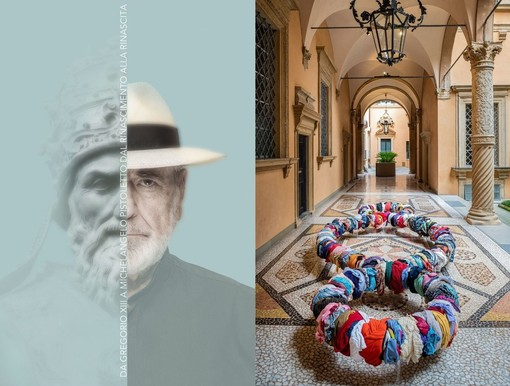 """""""Dal Rinascimento alla Rinascita"""", inaugurata la mostra che celebra Gregorio XIII e Michelangelo Pistoletto"""