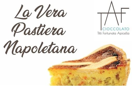 Profumo di Pastiera da Cioccolato Taf, prenota il tipico dolce pasquale entro il 30 marzo