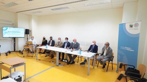 Un momento della conferenza stampa di presentazione del progetto