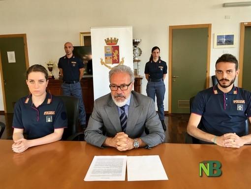Nuovi distintivi per la Polizia: presentati a Biella dal questore Nicola Alfredo Parisi FOTOGALLERY
