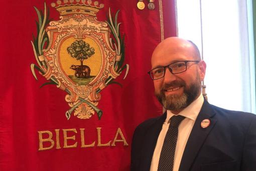 Rocco Botta consigliere comunale M5S a Biella