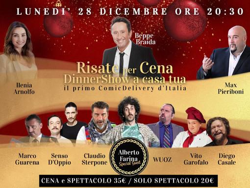 PIANEZZA (TO): AL VIA 'RISATE PER CENA', IL PRIMO 'COMIC DELIVERY' ITALIANO