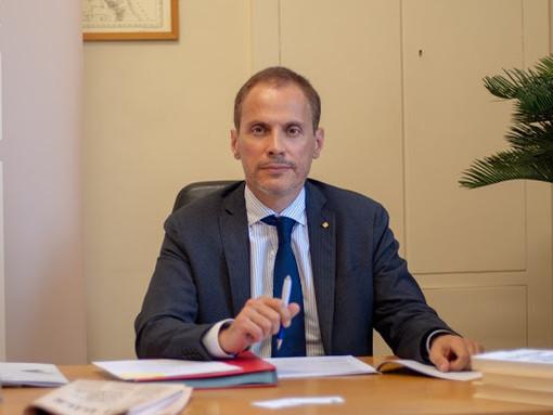 Il presidente della Camera di Commercio di quadrante, Fabio Ravanelli