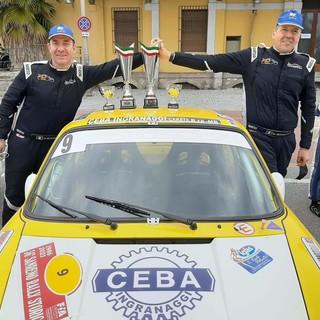 Gli equipaggi della Rally&co in evidenza al Rally di Sanremo