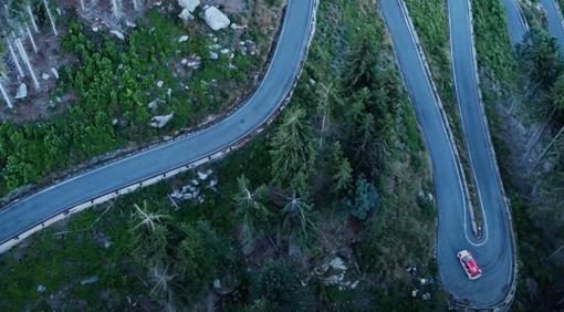 RallyLana 2020, le nostre immagini video più belle della gara registrate dal drone