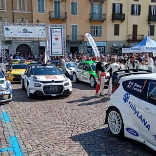 Pinzano-Pons al comando del 34° Rally Lana