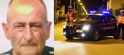 E' scomparso da ieri sera, ricerche in corso da parte dei carabinieri
