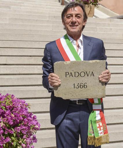 A Biella una pietra di riuso in ricordo dei Caduti della Grande Guerra di Padova