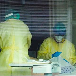 Reparto semi intensivo del Degli Infermi nella foto di Filippo Sarcì