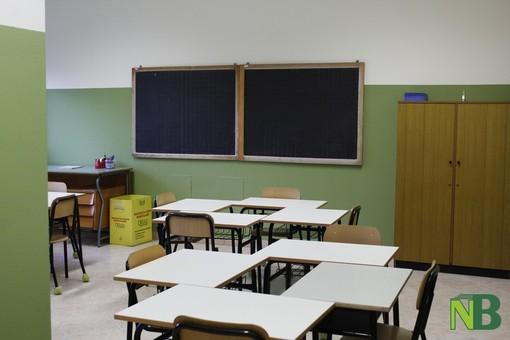 Al momento ci sono 4 classi in quarantena nel biellese