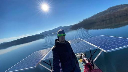 barca energia solare cavaglià
