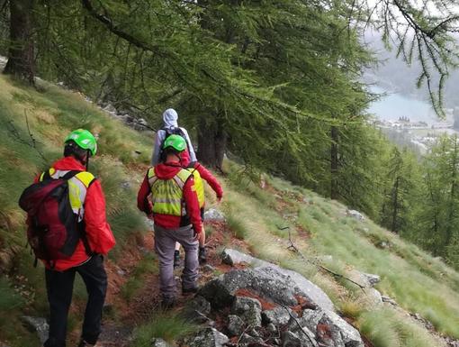 Dal Nord Ovest - Coppia di escursionisti dispersa: moglie ritrovata, nulla ancora per il marito