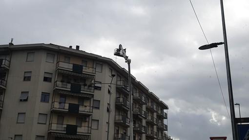Vigili del Fuoco impegnati in innumerevoli interventi nel biellese - Foto Benedetti per newsbiella.it