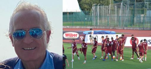 Biella, omaggio di Roberto Boglietti ai giocatori del Torino Calcio