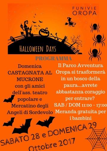 Dolcetto o scherzetto? Halloween Days a Oropa
