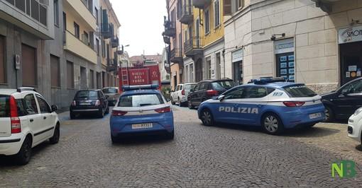 Incidente sul lavoro in via Palazzo di Giustizia a Biella