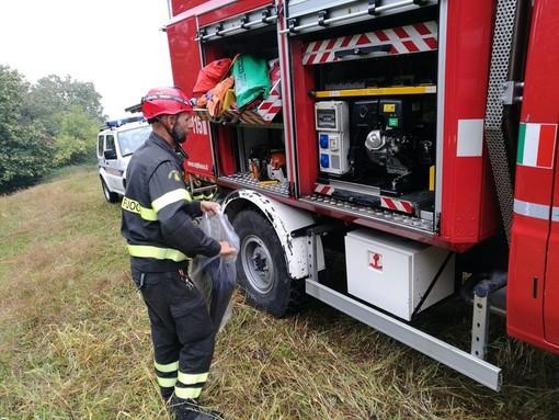 Fuga di gas a Graglia, vigili del fuoco impegnati per ore