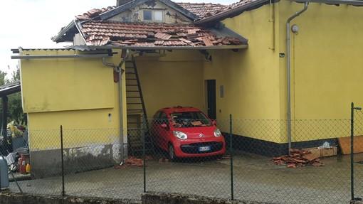 Danni ingenti alle abitazioni - Foto Benedetti per newsbiella.it