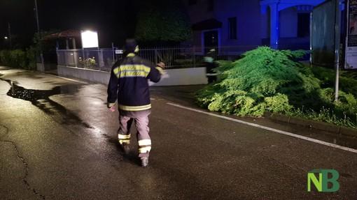 Vigili del Fuoco impegnati anche questa notte