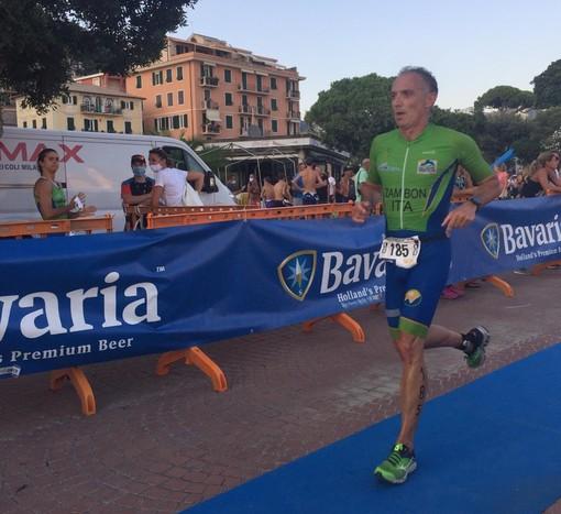 Superbo Danilo Zambon a medaglia tra gli M4 ai Campionati Italiani di Aquathlon FOTOGALLERY