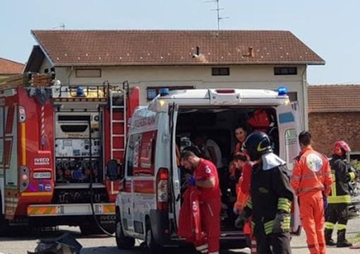 Cossato e Mongrando, doppio intervento dei Vigili del Fuoco per due donne cadute in casa
