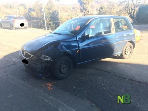 Biella - Incidente in via Marconi, nessun ferito FOTO